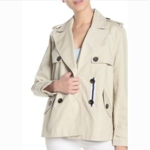 BCBGeneration Missy Short Double Breasted Trench C